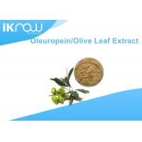 Buy cheap Brownish Yellow Olive Leaf Extract / Oleuropein 20%~60% For Health from wholesalers