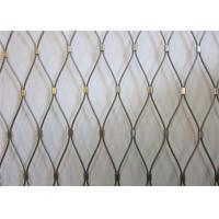 Buy cheap Protecting Stainless Steel Rope Mesh For Zoo Fence, Animal Enclosure, Bird Net from wholesalers