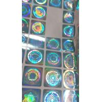 Buy cheap cheap Custom hologram sticker , 3d hologram sticker from wholesalers