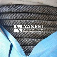 China Steel Wire Rope For Elevators Or Lifts on sale