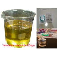 Buy cheap Yellow Oil Injectable Anabolic Steroids Testosterone Undecanoate 300mg/ml CAS 5949-44-0 from wholesalers