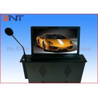 Buy cheap 18.5 Inch Motorized Computer Desk Monitor Lift With Conference Microphone from wholesalers