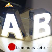 Buy cheap Reception & Lobby Signage Illuminated Channel Letters Interior Signs from wholesalers