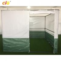 Buy cheap White Green 3x3 Sukkah Outdoor Tent Outdoor Furnitures With Powder Coating Steel from wholesalers