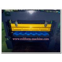 Buy cheap Quality Colour Aluminium Metoccopo Step Tiles Roofing Panel Corrugating Machine with Auto Steel Cutter from wholesalers