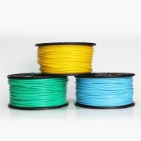 Buy cheap 1.75mm / 3mm Transparent 3D Printer Filament PLA ABS For Extruding machine from wholesalers