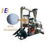 Buy cheap Virgin GPPS Granules Plastic Powder Grinder , 80 - 500kg/h Grinding Pulverizer Machine from wholesalers