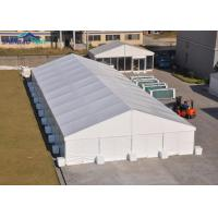 Buy cheap Large Temporary 10x30 Party Tent With Sidewalls Aluminum Frame Industrial Storage Tents from wholesalers