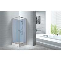 Buy cheap Fitness Halls 800 X 800 X 2250mm Glass Shower Stalls With Silver Aluminum Frame from wholesalers