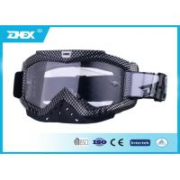 Buy cheap Water Transfer Printing Frame PC Lens Leather Motorcycle Goggles for child , junior from wholesalers