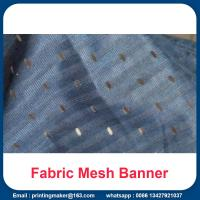 Buy cheap Fabric Mesh Fence Banner Signs Wrap from wholesalers