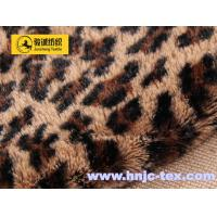Buy cheap Printing fabric stamp fabric short plush fur pv fleece fabric home textile apparel fabric from wholesalers