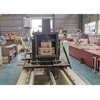 Buy cheap Rolling Shutter Door Roll Forming Machine For 0.6-0.8mm Thickness Building Material product