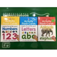 Buy cheap Preschool Toddler Educational Flash Cards Paper Dry Eraser Memory Learning from wholesalers