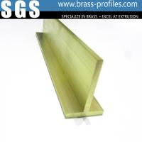 Buy cheap Brass Extruding T Shape Brass T Sections Supplier from wholesalers