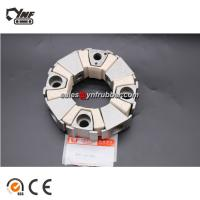Buy cheap White Color Excavator 40H Rubber Coupling Standard Or Nonstandard from wholesalers