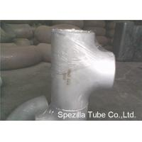 Buy cheap ASTM A403 Stainless Steel Pipe Fittings Schedule 5S 10S 40S Reducing Tee NPS 1/2'' - 24'' from wholesalers