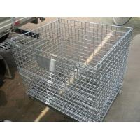 Buy cheap Folding Wire Mesh Container from wholesalers