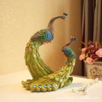 Buy cheap The couple peacock from wholesalers