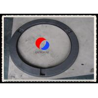 Black Rayon Based Rigid Graphite Felt Gasket Plate Fireproof For Vacuum Furnaces