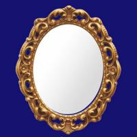 Buy cheap 4034 Luxury Furniture Wall Mirror / PU Carved Decorative Mirrors Frame from wholesalers