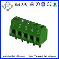 Buy cheap F33-1-3.81 Pitch3.81mm PCB Rising Clamp green Terminal Blocks from wholesalers