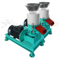 Buy cheap Portable Electric Wood Pellet Making Machine All In One Pellet Maker customize Color from wholesalers