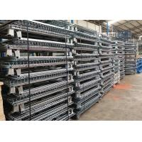 Buy cheap Standard Size Wire Mesh Cages , Warehouse Metal Wire Storage Cages Container from wholesalers
