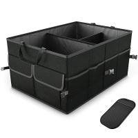 Buy cheap Car Trunk Organizer Collapsible Auto Trunk Storage Box Non Slip Bottom Securing Straps from wholesalers