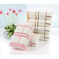 Buy cheap Luxury discount good quality personalised face bamboo cotton towels from wholesalers
