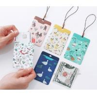 Buy cheap Promotional Gifts Lanyard ID Card Holder Bus Card Cover Lovely Carton Theme from wholesalers