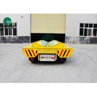 Buy cheap Heavy Duty Steel Coil Handling Electric Flat Car Battery Powered With E Frame from wholesalers