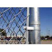Buy cheap china supplier barbed wire chain link fence, stainless steel chain link fence from wholesalers