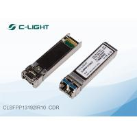 Buy cheap LC Dulplex 10G SFP Transceiver ,  Dual Fiber SFP + Module with CDR product