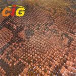 Lady Bag Imitation Crocodile Grain Synthetic Leather Material Width 132cm -