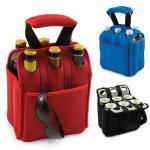Neoprene Wine Bag,6 bottle & can cooler bag