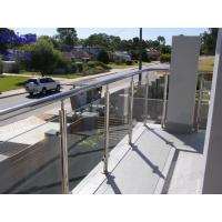 Buy cheap Balconies Steel Glass Balustrade from wholesalers
