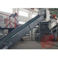 Buy cheap Large Capacity Plastic Recycling Washing Line Pet Bottle Cleaning Production from wholesalers