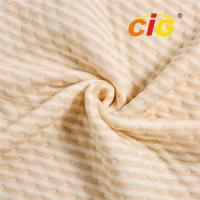 Quality Polyester  with  Cotton Knitted Mattress Textile Cotton Mattress Fabric  260gsm for furniture upholstery fabric for sale