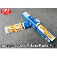 Buy cheap Food Grade Silicone Treated Parchment Paper Virgin Wood Pulp Material Double Sides Coated from wholesalers