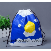 Buy cheap FSC 0.07mm PE Drawstring Packaging Bags for gift packaging from wholesalers