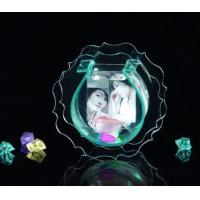 Buy cheap Modern Clear Acrylic Fish Tank With Picture Frame For Gift , Engraving product
