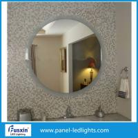 Buy cheap High Effiency Glass Round Bathroom Mirror With Lights , Circular Oval Backlit Mirror from wholesalers