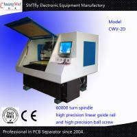 Buy cheap Two Working Station CNC Drilling And Milling Machine V-Cut PCB Separator from wholesalers