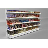 Buy cheap Heavy Duty Supermarket Shelves , Single Side Wall Mounted Wire Shelving from wholesalers