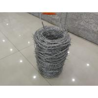 Quality Electric Galvanized 16*18# Wire Gauge Double Twist Barbed Wire for sale