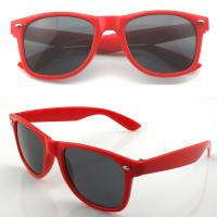 Buy cheap Promotional sunglasses gift sunglasses W14.50*H4.80*L14cm PC material colorful logo customized from wholesalers