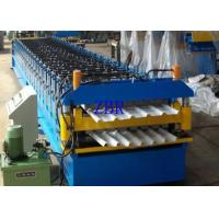 Buy cheap Fully Automatic Double Layer Roll Forming Machine , Continuous Layout Rolling Forming Machine product