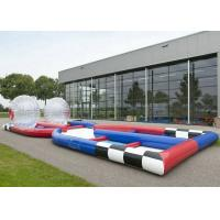 Buy cheap Custom Inflatable Sports Games , 0.55mm PVC Tarpaulin Inflatable Zorb Ball Track from wholesalers