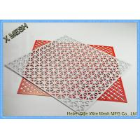 Buy cheap Architectural Facades Honeycomb Perforated Sheet Metal Stainless Steel Material from wholesalers